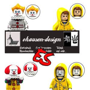 Filmfiguren Steven Kings ES 2 Pennywise Georgie Clown Bausteine 100% kompatibel