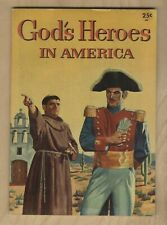1956 GOD'S HEROES IN AMERICA   MARTYR OF CHRIST ✝️   VG-FN