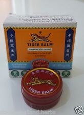 1 x 4 g. Tiger Balm massage muscle white herbal.