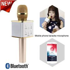 Q7 Wireless Karaoke Microphone Ktv Bluetooth Usb Player Mic Speaker for Phones