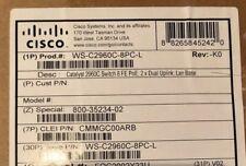 Cisco 2960C-8PC-L Managed 8-Port PoE Switch (WS-C2960C-8PC-L) NEW
