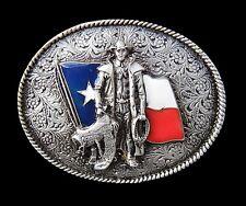TEXAS FLAG WESTERN RODEO COWBOY COOL MEN'S BELT BUCKLE BOUCLE DE CEINTURE
