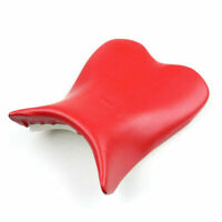 Front Rider Seat Leather Cover For Yamaha YZF R1 2009-2011 Red AU5