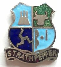 Strathpeffer Scotland Small Enamel Lapel Pin Badge T071