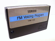 Yamaha MSX FM Voicing Program YRM-102 Cartridge for Vintage Computer System
