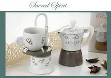 Bomboniere CAFFETTIERA funzionale moka matrimonio nozze comunione cresima caffè