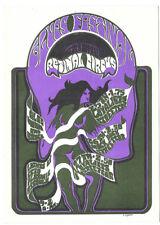 The RETINAL CIRCUS The Loyalists, Ectoplasmicassualt 1968 POSTCARD