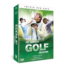 THE COMPLETE GOLF COLLECTION HISTORY CHANNEL DOCUMENTARIES NEW 3 DVD BOXSET R4