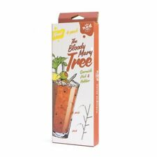 Nod Stainless Steel Bloody Mary Cocktail Garnish / Appetizer Tree - Set of 4