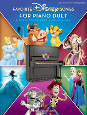 Favorite Disney Songs For Piano Duet 1 Piano,4 Hands/Early Intermediate Book-New