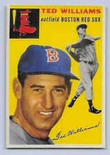 "1954  TED WILLIAMS - Topps ""REPRINT"" Baseball Card # 250 - BOSTON RED SOX"