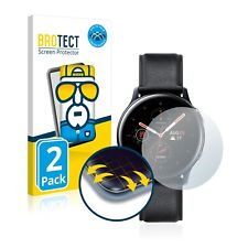 2x Full Cover Folie Samsung Galaxy Watch Active 2 (44mm) 3D Full Edge Screen