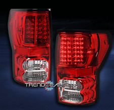 2007-2013 TOYOTA TUNDRA TRUCK LED ALTEZZA TAIL BRAKE LIGHTS REAR LAMPS RED/CLEAR