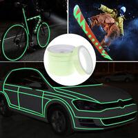 Luminous Tape Night Vision Glow In Dark Self-adhesive Warning Tape Security HU