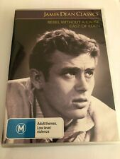 James Dean Classics dvd Rebel Without A Cause & East Of Eden NEW & SEALED