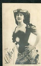c1905 View: Spanish Actress & Dancer & Courtesan in Stage Costume