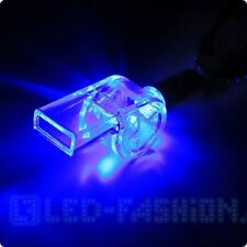 LED-Trillerpfeife Halskette  laut Schiedsrichter Party Festival Fasching Rave
