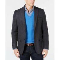 $350 Lauren Ralph Lauren Classic-Fit UltraFlex Twill Grey Sport Coat 44R 44 NEW
