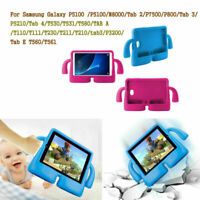 "Kid Shockproof Rubber Cover .6"" 10.1"" Fit Samsung Galaxy Tab 3 4 A E Tablet 2019"