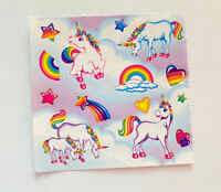 Vintage Lisa Frank Sticker Partials Markie Unicorn