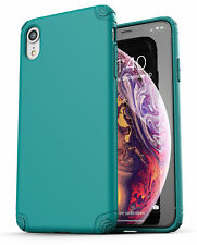 iPhone XR Case / Cover Ultra Slim Protective Thin Grip Phone Case (Nova) Teal