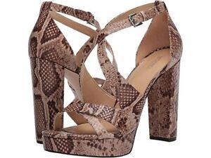 MICHAEL MICHAEL KORS Lorene Truffle Platform Sandal Size 8M NWB $150