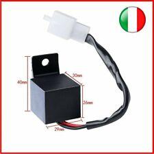 Universali Relè Intermittenza per frecce a led 2 PIN per Auto/Moto