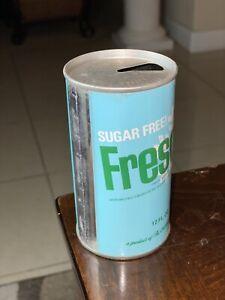 Vintage Sugar Free Fresca Steel Can
