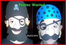 12 Foam Pirate Masks Party Favor - Way to Cute...