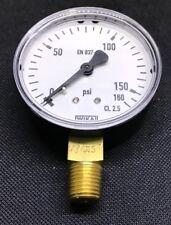 Wika 111.10.063 0-160psi EN837-1 Pressure Gauge - Plastic Back - Plastic Front