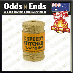 Genuine SPEEDY STITCHER Heavy Duty Sewing Waxed Thread 180yd Made in USA