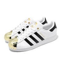 adidas Originals Superstar Metal Toe W White Gold Black Women Casual Shoe FV3310