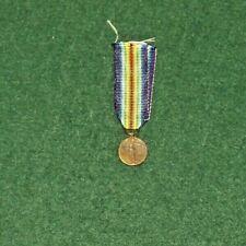 WW1 BELGIAN MINIATURE VICTORY MEDAL