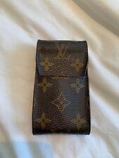 Authentic Louis Vuitton Monogram Leather Phone Case Classic Design