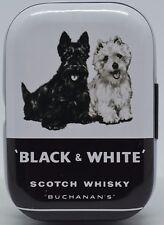 Black & White Scotch Whisky Blechdose Pillendose Dose Aufbewahrung Tin Box