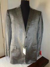 $1295 MENS Z ZEGNA TEXTURED WOOL SPORT COAT SIZE 54R / 44R