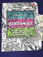 Art of Zentangle Book Walter Foster Drawings Technique Meditative Artist