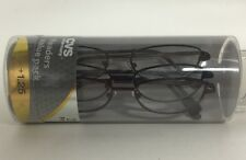 LOT OF 9 SPARE PAIR Larsyn READING GLASSES +1.25  NEW