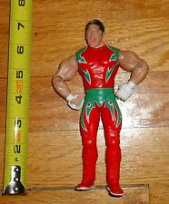 2003 WWF WWE Jakks Super Crazy Mexicool Wrestling Figure Red and green tights