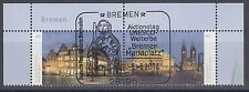 """Bund 3083-3084 Paar Oberrand ESST Bremen UNESCO """"Bremer Marktplatz"""""""