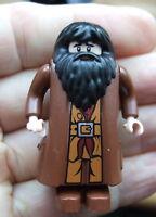 *LEGO HARRY POTTER MINIFIGURE: HAGRID  LIGHT FLESH, MOVEABLE HANDS (custom made)
