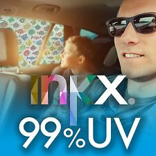1 x INKX 99% UV SPF 100 PREMIUM CAR SHADE TROPICAL FISH, 66% HEAT REJECTION