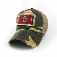 fc8081bd598 Tennessee Flag Patch Trucker Hat Camouflage