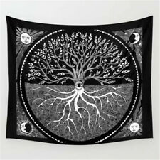 Tree of Life Druid Tapestry Wall Hanging Hippie Mandala Home Tapestry Art Decor