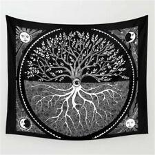 Tree of Life Druid Tapestry Wall Hanging Hippie Mandala Home Tapestry Art Decor