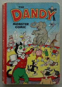 Dandy Monster Comic 1951 FR/GD (phil-comics)