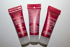 LOT OF 3 LOREAL Revitalift Miracle Blur Instant Eye Smoother Not Carded ( 5 ml )