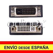Adaptador Prolongador DVI-I (24+5) Hembra a DVI-D (24+1) Macho a1688