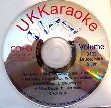 UK Karaoke CDG - Vol. 3102  (Bruce, Mick & Jim)