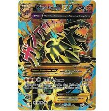 MEGA PRIMAL GROUDON EX 97/98 Ultra Rare Holo Star Pokemon Card FULL ART GOLD!